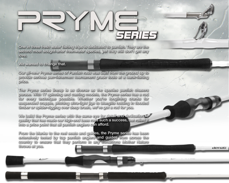 Crappie Nation :: Denali Rods Getting Into Crappie Rods?